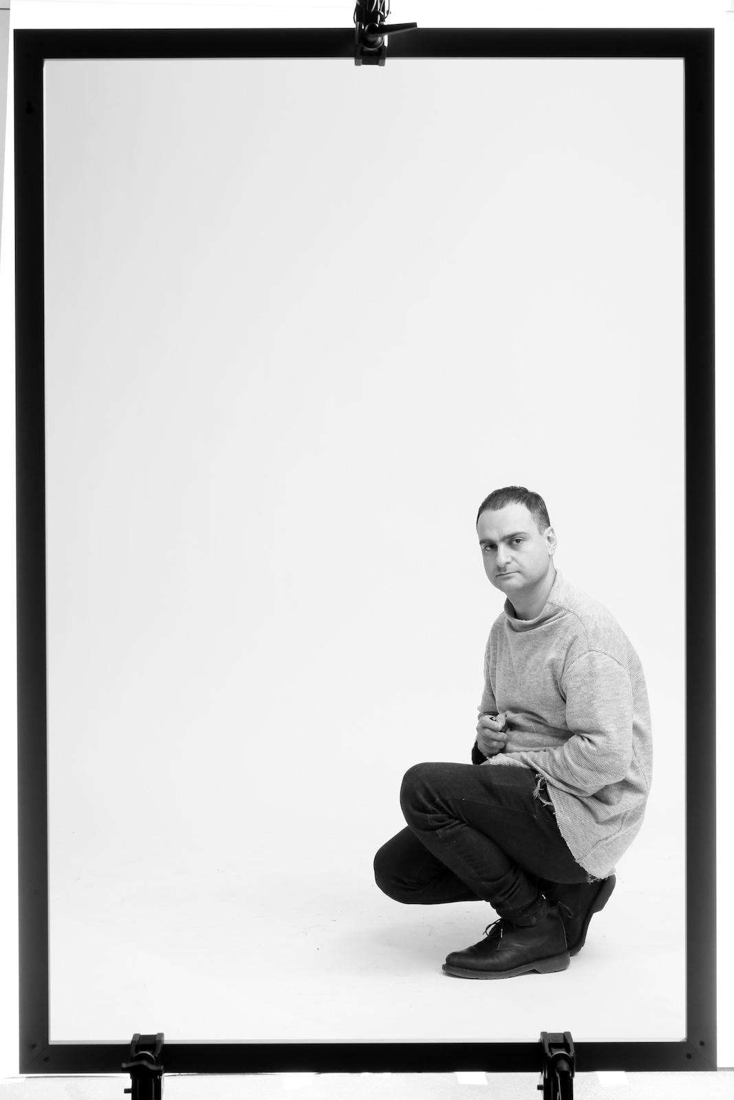 Davidmeskhi  selfportrait metalmagazine