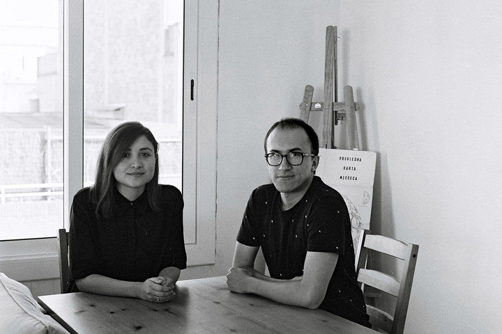 Lucy rojas and andres colmenares portrait