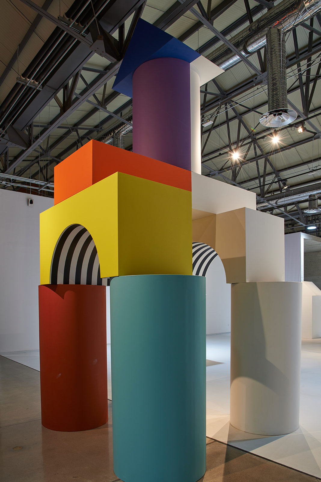 Daniel buren comme un jeu d enfant like child s play 5