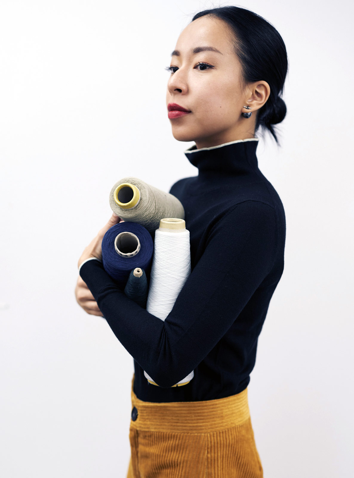 Carolyn yim ply knits metalmagazine