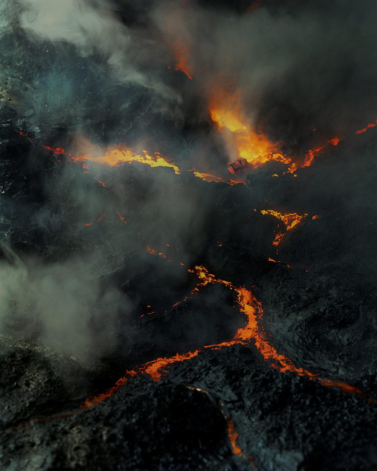 The  quiet of dissolution lava flow sm