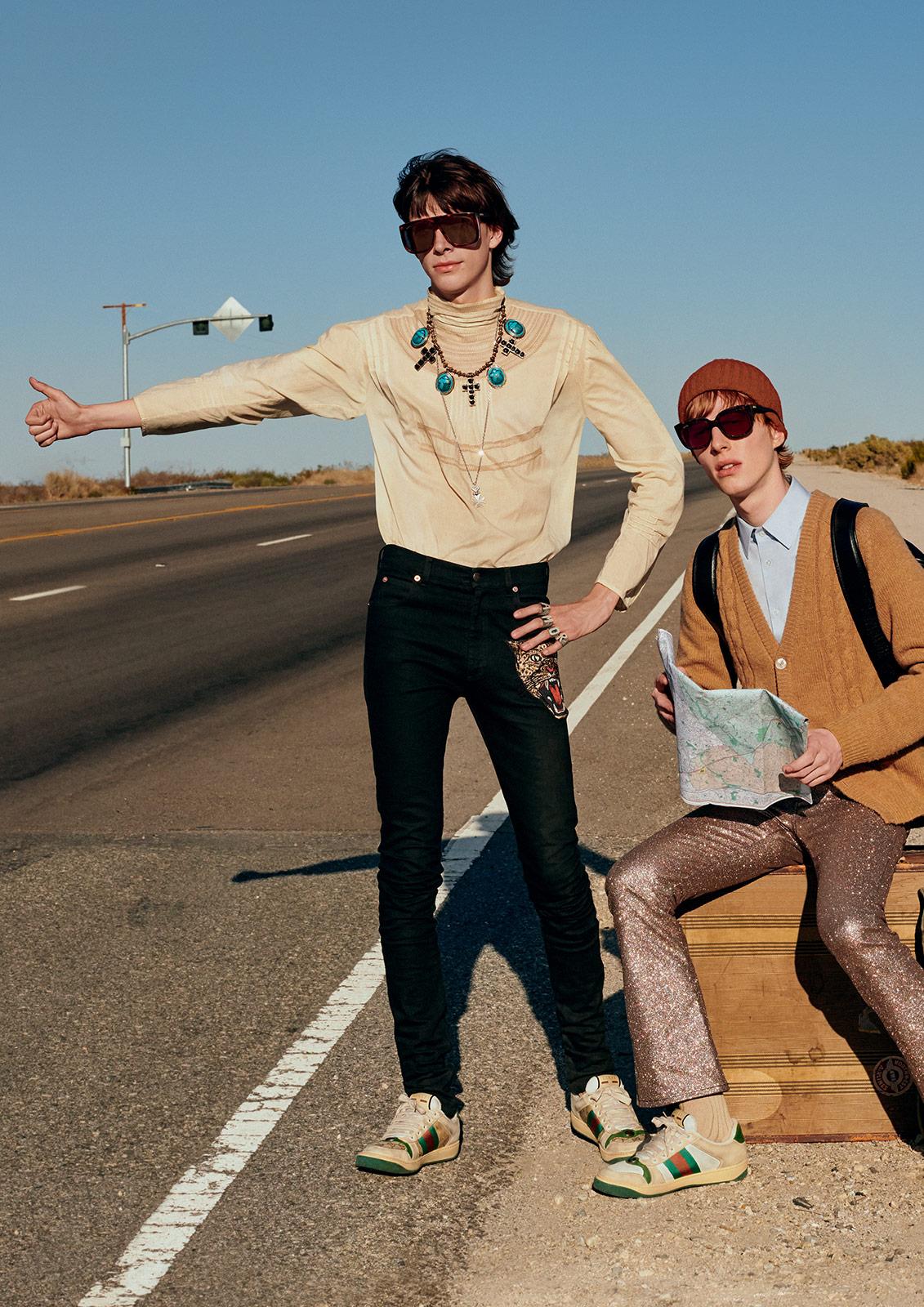 Gucci sunglasses metalmagazine 3